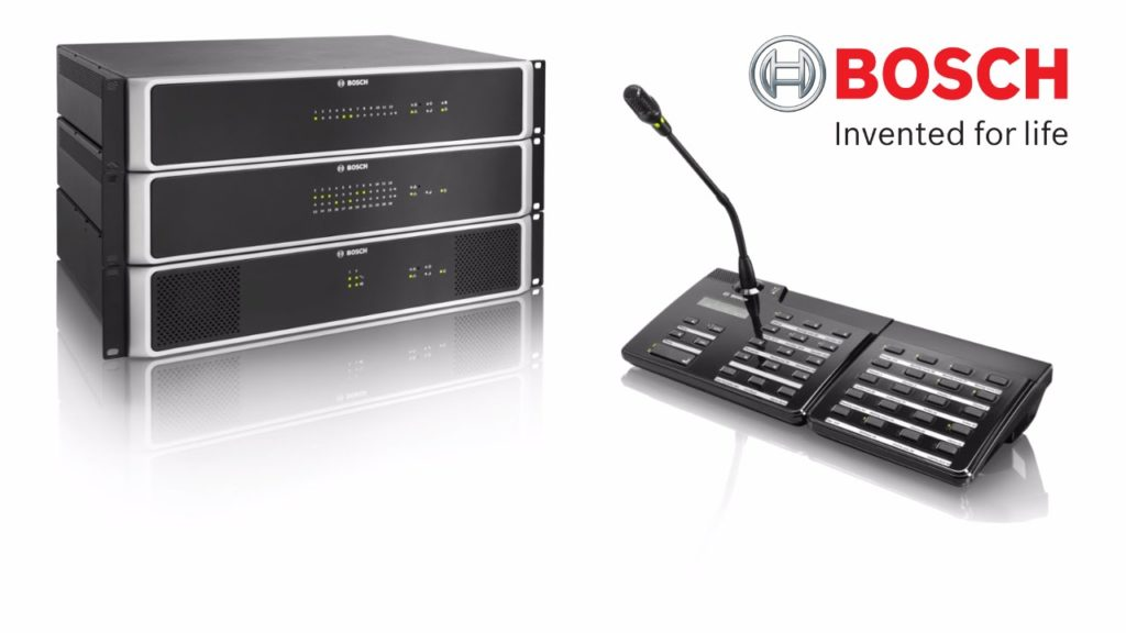 Bosch Ses ve Naons Sistemleri